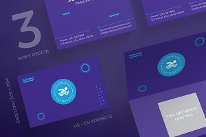 Business Cards | Swimming Lessons