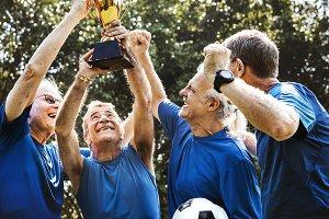 Senior soccer team