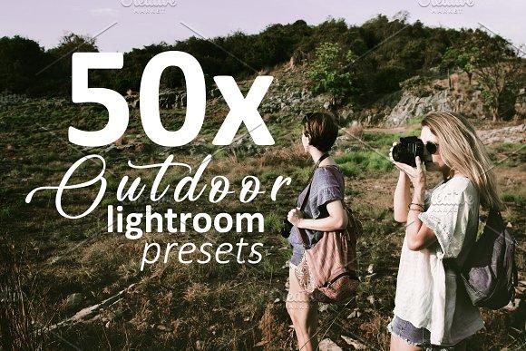 50xoutdoor Lightroom Presets
