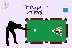 Billiard Clipart