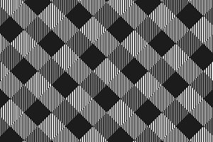 Black and white checkered pattern