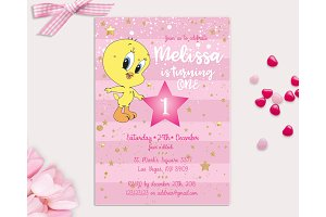 Duck Tweety Kids First Birthday
