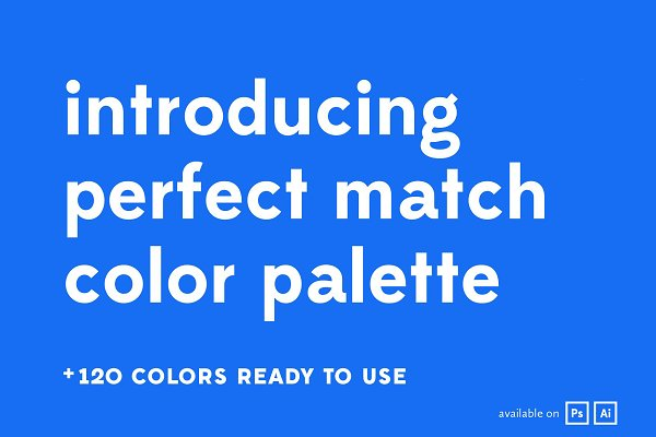 InDesign Color Palettes: Hederae Type Foundry - Perfect Match Color Palette