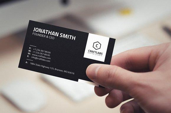 Simple corporate business card 24 business card templates simple corporate business card 24 business card templates creative market colourmoves