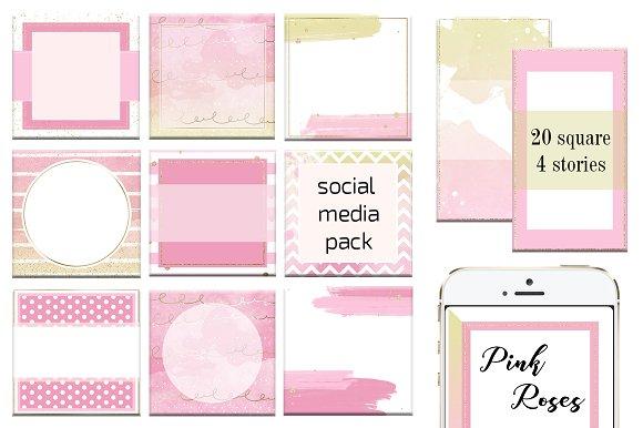Social Media/Instagram/Pink Roses