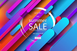 6 Summer Sale posters