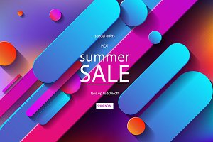 2 Summer Sale posters