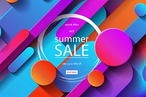 7 Summer Sale posters