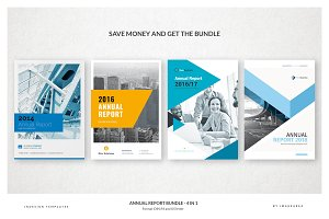 Annual Report Bundle - 4 in 1