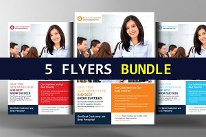 5 Business Flyer Bundle