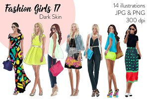 Fashion Girls 17 - Dark skin