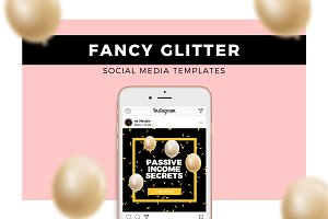 Fancy Glitter - Animated Templates