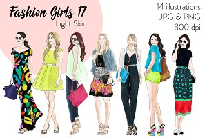Fashion Girls 17 - Light Skin