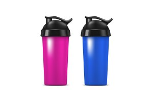 Sport Nutrition Drink Bottle Set