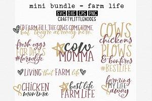 Mini Bundle - Farm Life SVG