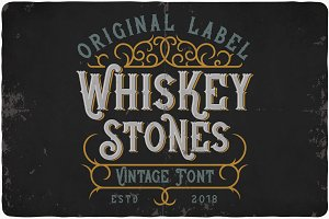 Whiskey Stone Typeface