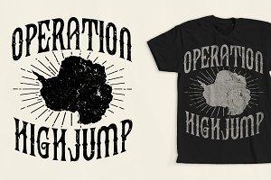 Operation High Jump T-Shirt Design