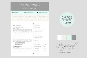 resume template cover letter word - Resume Cover Letter Word Template