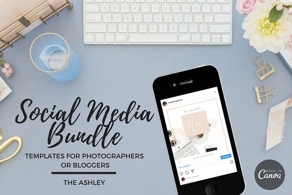 Social Media Bundle Canva