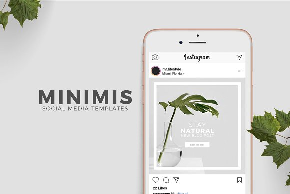 Animated Social Media Templates