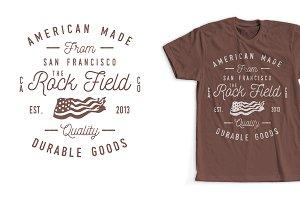 Vintage Clothing Co T-Shirt Design