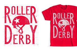 Roller Derby T-Shirt Design
