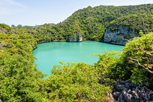 Thale Nai, Blue Lagoon (Emerald Lake)