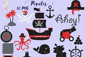 Pirate for Boys Clipart
