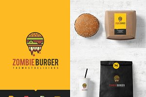 Logo Burger Food