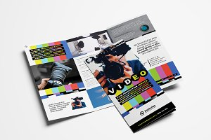 Videographer Trifold Brochure