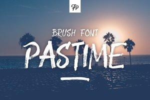 Pastime Brush Font