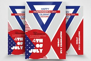 Happy Independence Day Flyer