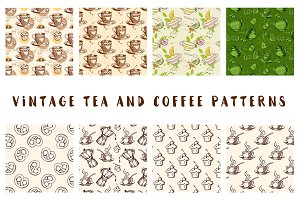Vintage Tea and Coffee Patterns
