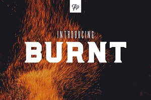 Burnt - Serif Display Font