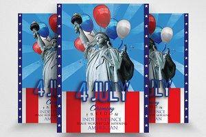 American Memorial Day Flyer