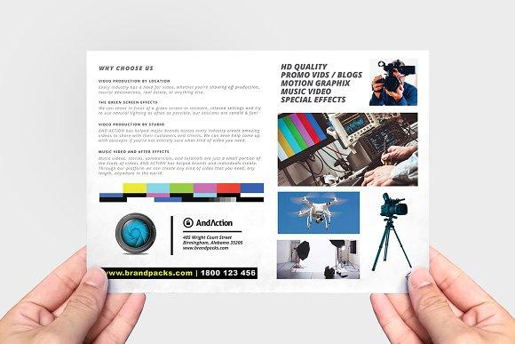 Videographer Flyer Template Flyer Templates Creative Market