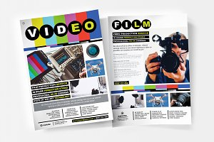 A4 Videographer Poster Template