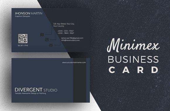 Minimex Business Card