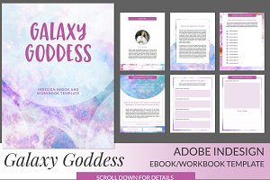 Galaxy Goddess INDD Ebook Template
