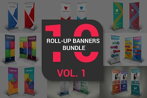 Roll-Up Banners Bundle Vol. 1