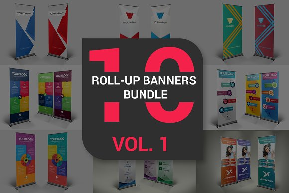 Roll-Up Banners Bundle Vol 1
