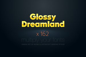 AI CS5 graphic styles Glossy