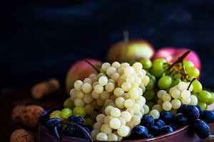 Fresh ripe grape