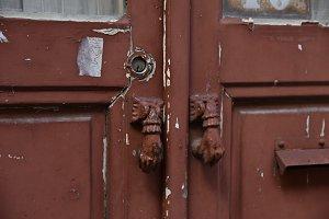Stylish vintage door handles