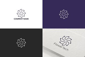 Flower logo design | Free UPDATE