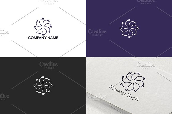 Flower Logo Design Free UPDATE