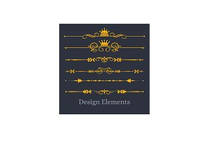 Design Elements Vector, PNG
