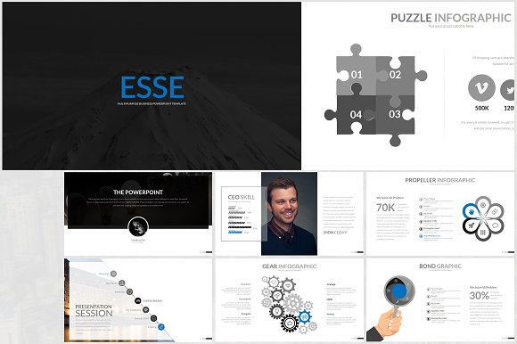 Esse Powerpoint Template