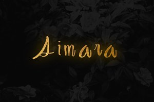 Aimara Font Boutique Hand-drawn