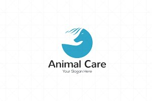 Animals Pets Care Logo